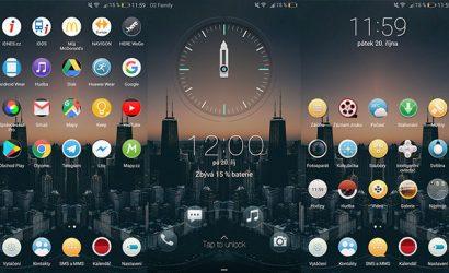 Skyline Theme for EMUI 5.0/5.1