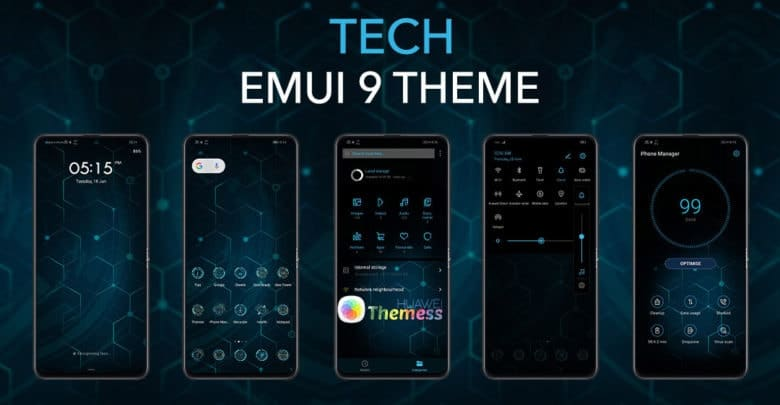 Andro Q Theme For EMUI 9 | Android Q Themes for Huawei