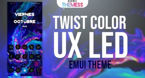 Twist Color UX Led EMUI 9| Twist Color UX Led EMUI Themes for Huawei & Honor Phones