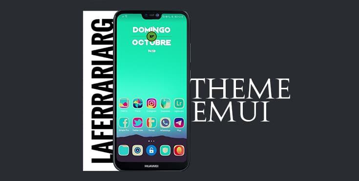 Radiate Huawei EMUI Theme