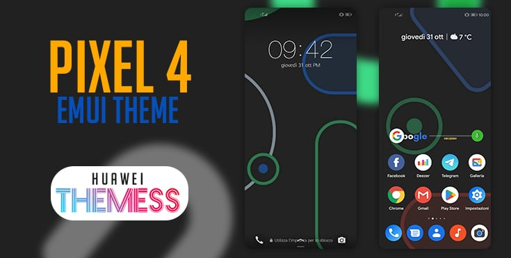 Google Pixel 4 Theme for EMUI 9