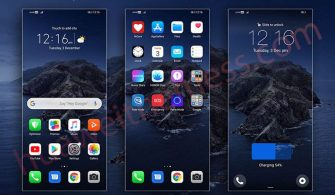 iPhone iOS13 EMUI 10/9 Theme Download Now