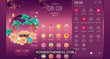 Fuyun Year Round Theme for EMUI 10/9 and MagicUI 3/2