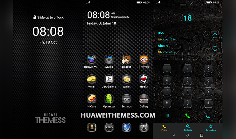 Boss Grey Theme for EMUI 10/9 and MagicUI 3/2