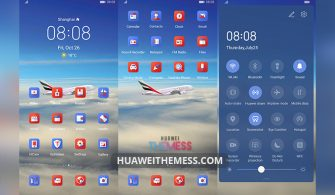 Emirates Dynamic Theme for EMUI 10/9 and MagicUI 3/2
