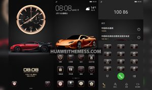 Enjoy Classic Sport Car Theme for EMUI 10/9 and MagicUI 3/2