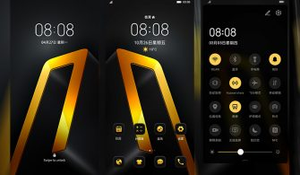 Luxury Black Gold Theme for EMUI 10/9 and MagicUI 3/2
