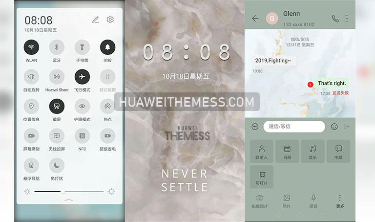 Marble Theme for EMUI 10/9 and MagicUI 3/2
