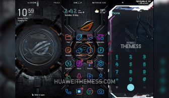 Asus Rog Theme for EMUI 11/10/9 and MagicUI 4/3/2