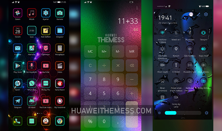 Gradient Theme for EMUI 11/10 and MagicUI 4/3