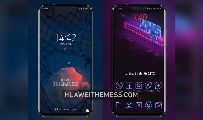Lineon Theme for EMUI 10/9 and MagicUI 3/2