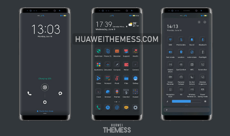 Arsentence Theme for EMUI 11/10 and MagicUI 4/3
