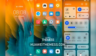 Wave Theme for EMUI 11/10 and MagicUI 4/3
